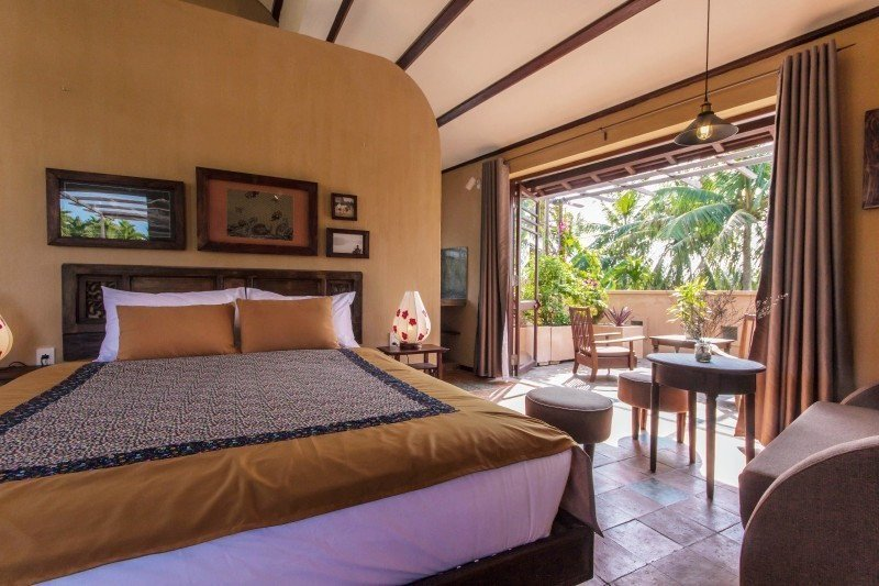 Meditation Retreat Vietnam - Write Your Journey: An Villa Boutique Resort Hoi An, Double-Bed with private balcony